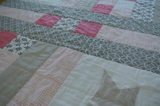 Custom quilt for Baby Girl King
