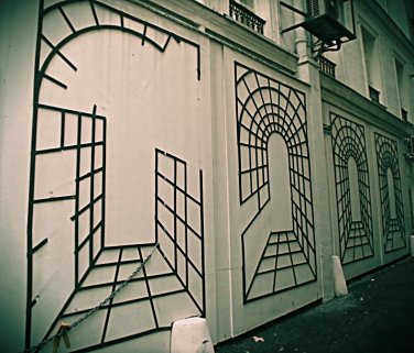 Paris Alley Canvas