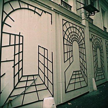 Paris Alley Canvas