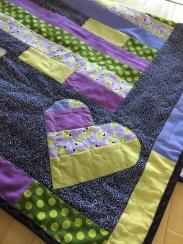 Emry's Secret Garden Baby Quilt