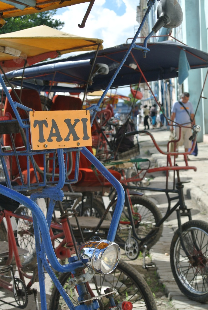 Bicycle Taxi in Havana