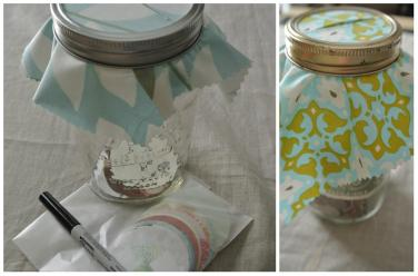 gratitude journal jar or coin bank tutorial, easy DIY - http://goo.gl/1fV8lD