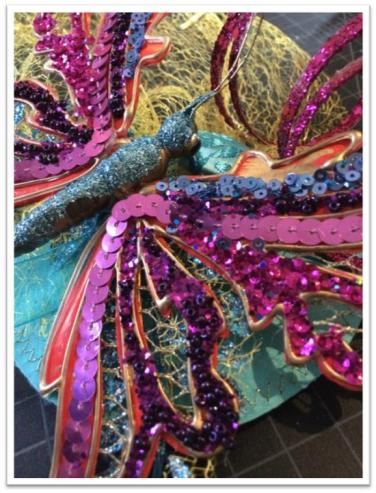 Butterfly Fascinator - story and tutorial http://goo.gl/zC6vrJ