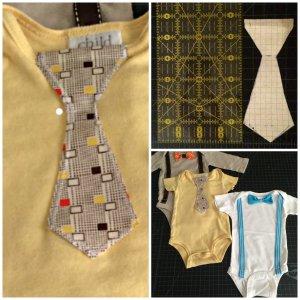 collage necktie
