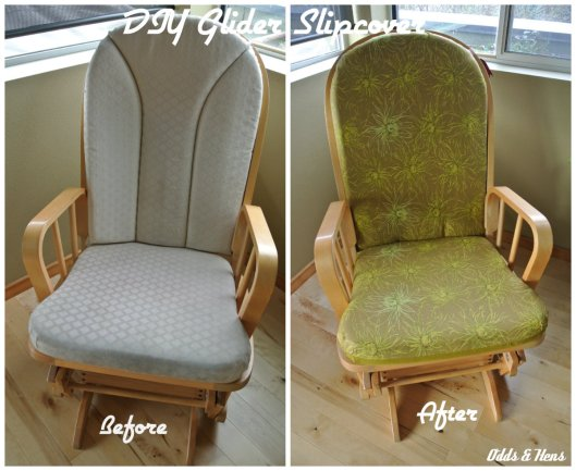 quick way to reupholster or recover a glider