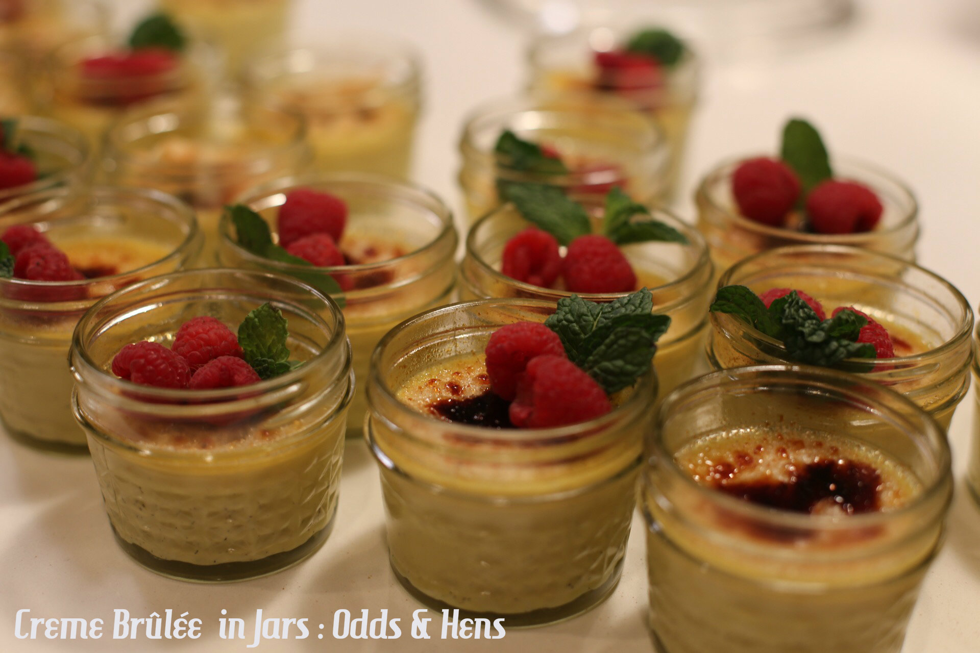 Creme Brûlée in Jars : Perfect, simple, deceptively easy