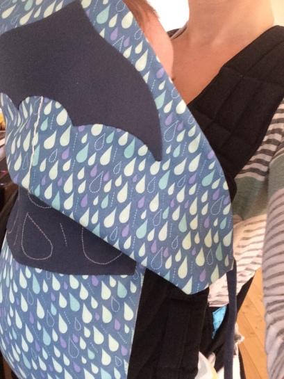 DIY makeover mei tai infantino raindrops seattle umbrella hood babywearing