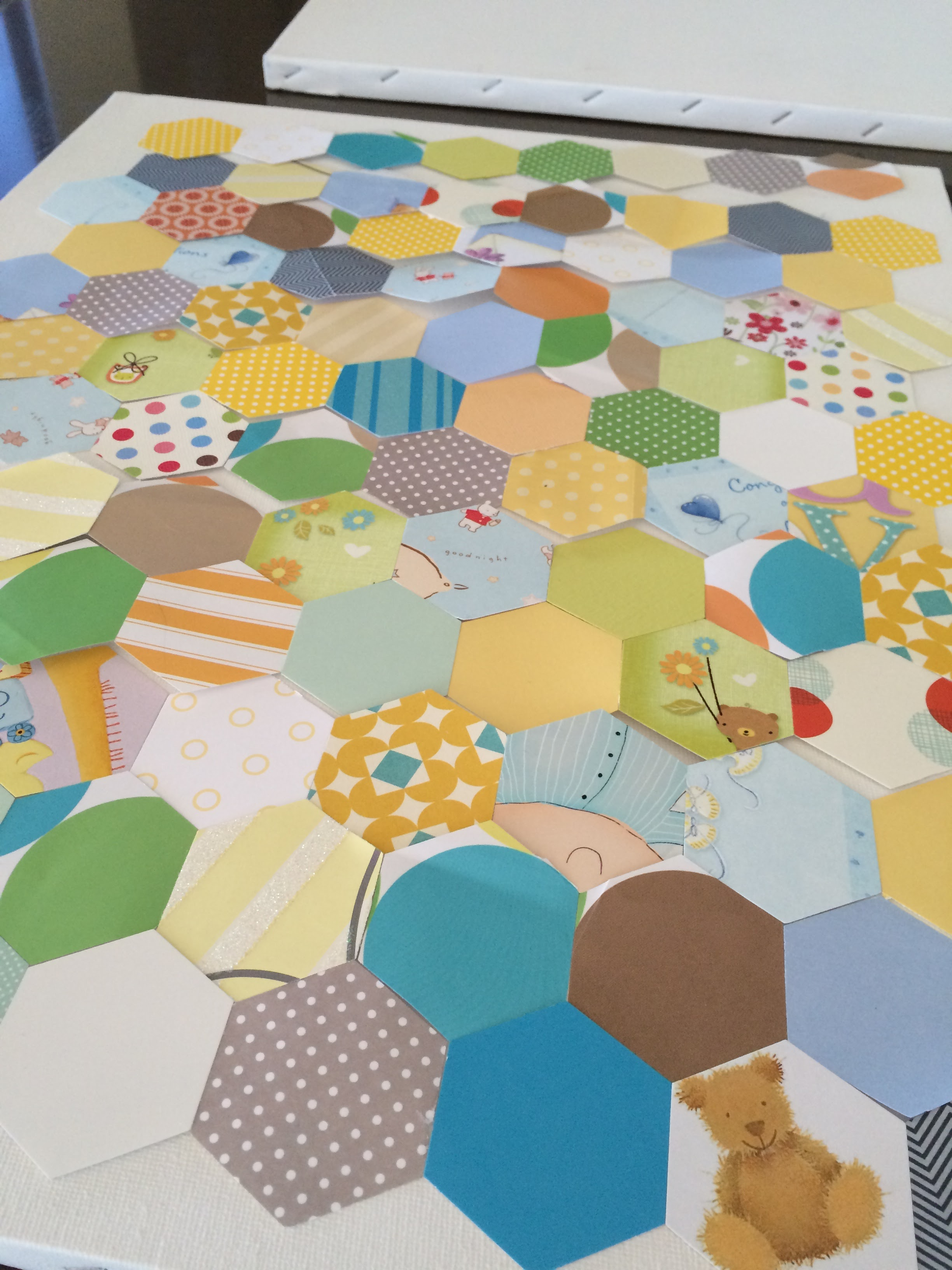 Fresh Nursery Wall Art Ideas Decoupage, Glue, Sew and