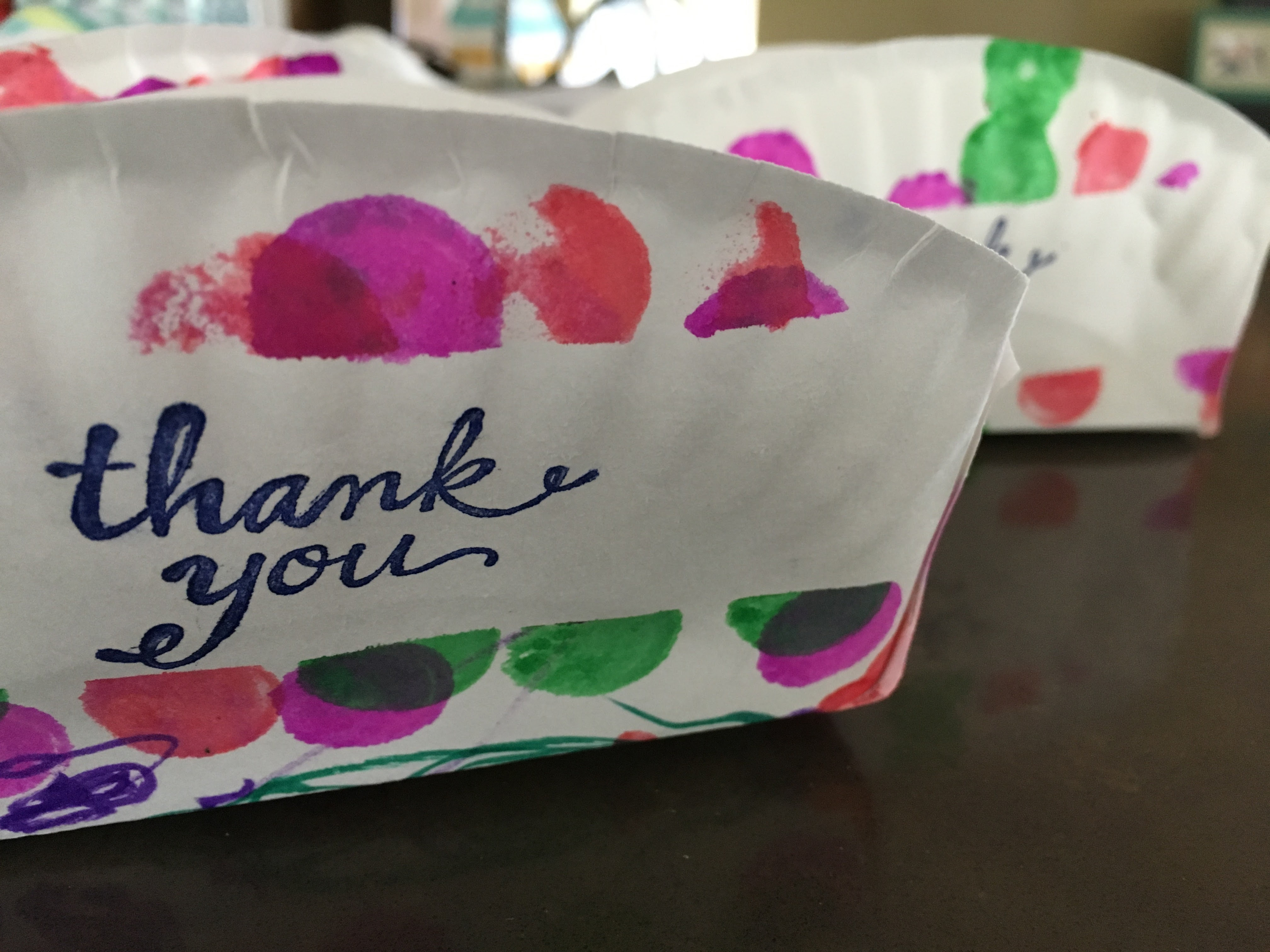 paper_plate_basket_DIY_6 & Paper Plate Basket for Home Baked Goodies: a Thank You Gift DIY ...