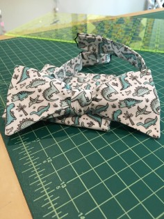 tiny dino custom bowtie