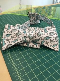 tiny dino custom bowtie